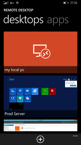 how to launch remote desktop from run